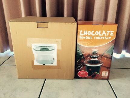 Fairy Floss Machine & Chocolate Fountain  Roxburgh Park Hume Area Preview