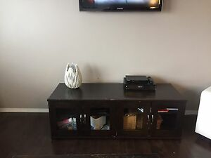 Coffee table and entertainment stand