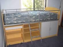 Combo King Single Bunk Bed - Brand is So-Fon Austalia East Maitland Maitland Area Preview