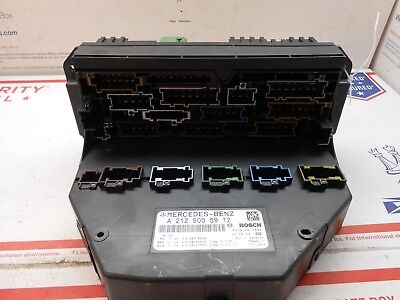 Used 10-12 Mercedes E-class Fuse Box 2129005912 Qj0269 for Sale | 212 900  59 12