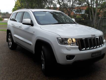 2012 jeep grand cherokee diesel 48000 kms one owner immaculate
