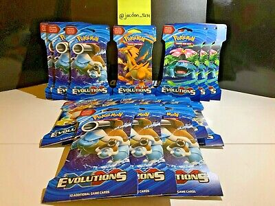1 Pokemon XY Evolutions Booster Pack! (Factory Sealed)