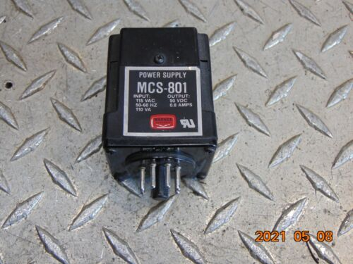 WARNER ELECTRIC MCS-801 POWER SUPPLY