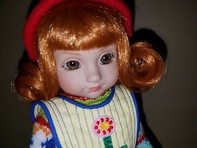"""Bird in Hand Sophie"" 10"" Ann Estelle Patsy Doll Mary Englebreit Tonner"