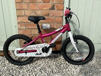 "Adventure 160 Girls 16"" Wheel Mountain Bike - Pink And White Age 4yrs Upwards."