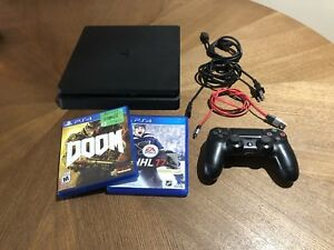 PS4 SLIM CONSOLE & GAMES FOR SALE!