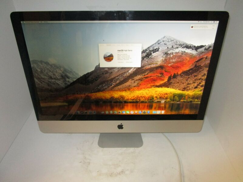 "Apple iMac Core i5 2.8GHz 27"" (MC511LL/A) 16GB 1TB GOOD CONDITION"