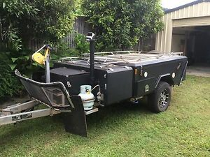 Rear fold camper trailer Mount Sheridan Cairns City Preview