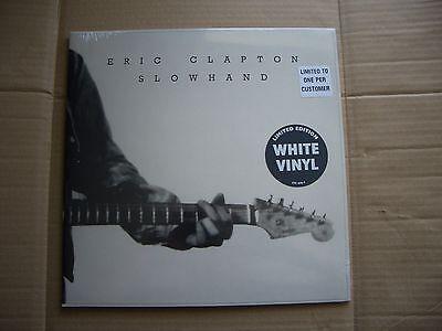 Eric Clapton: Slowhand on white vinyl (1500 copies) HMV EXCLUSIVE - NEW & SEALED