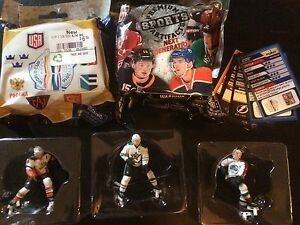 Collection of NHL 2.5inch figurines. All new.