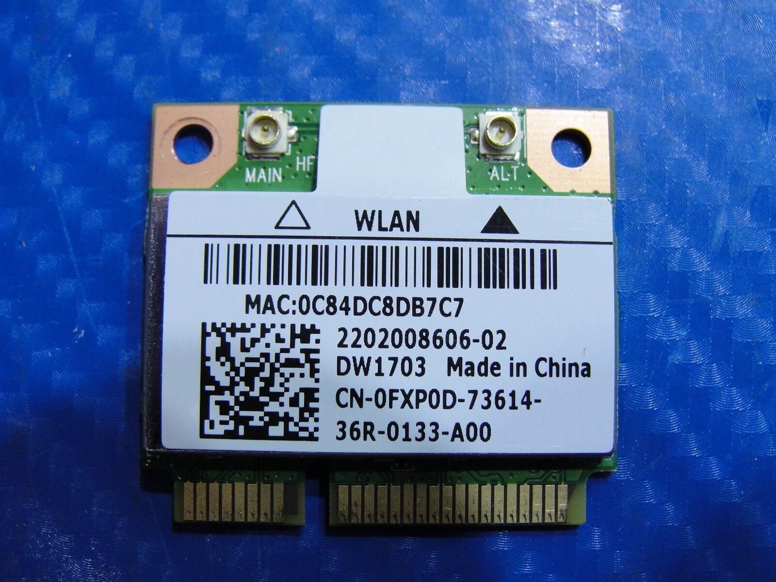 "Dell Inspiron 3520 15.6/"" Genuine Wireless WiFi Card Atheros AR5B225 DW1703 FXP0D"