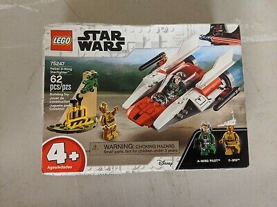 Lego 75247 Star Wars Rebel A-Wing Starfighter Brand New Sealed