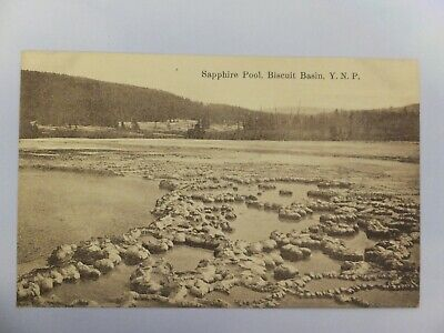 Yellowstone postcard - Amer Import - Sapphire Pool, Biscuit Basin YNP