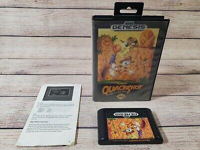 QuackShot Starring Donald Duck (Sega Genesis, 1991) Almost COMPLETE Game w/ CASE comprar usado  Enviando para Brazil