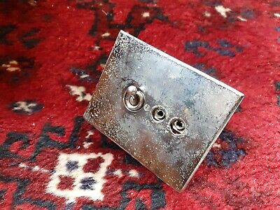 Vintage Crabtree Toggle Switch Salvaged Reclaimed