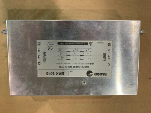 Fagor EMK 3040 Three Phase RFI Filter