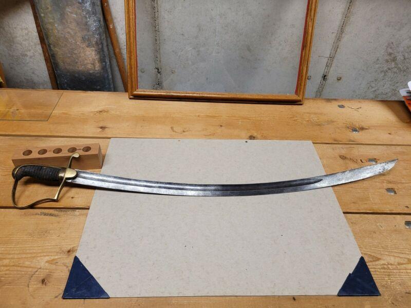 American War Of 1812 Light Artillery Sabre Sword Early American NCO Sword...