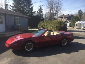 1991 Limited Edition Pontiac Trans Am Convertible
