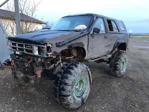 1988 Toyota 4Runner with built parts truck