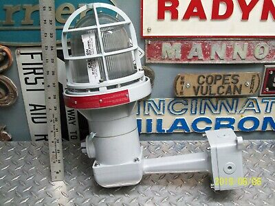 Rab Lighting Guard (NEW RAB EB124 LIGHTING FIXTURE with GUARD EXPLOSION PROOF HAZARDOUS LOCATION)