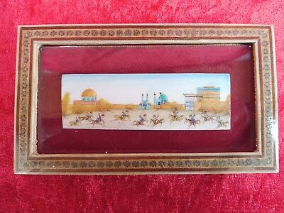 Pretty Picture__Miniature__Reiterspiele__Beautiful Frame __Orient__