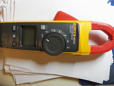 Fluke 902 Fc 902fc Hvac Clamp Meter Digital Multimeter