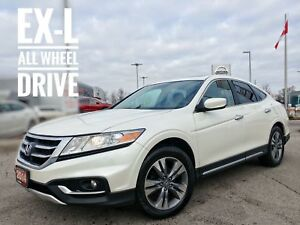 2014 Honda Crosstour EX-L Leather Sunroof FREE Delivery