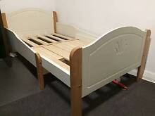 Expandable child bed frame with slatted base + mattress Burwood Burwood Area Preview