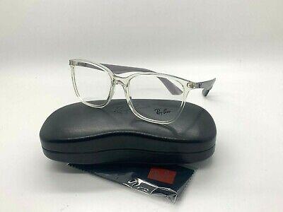NEW Ray-Ban OPTICAL ORX7066 5768 CLEAR EYEGLASSES FRAME (Ray Ban Prescription Eyeglasses)
