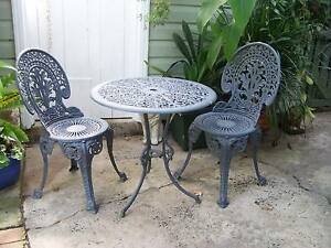 CAST ALUMINIUM OUTDOOR SETTING TABLE CHAIRS FURNITURE GARDEN Casino Richmond Valley Preview