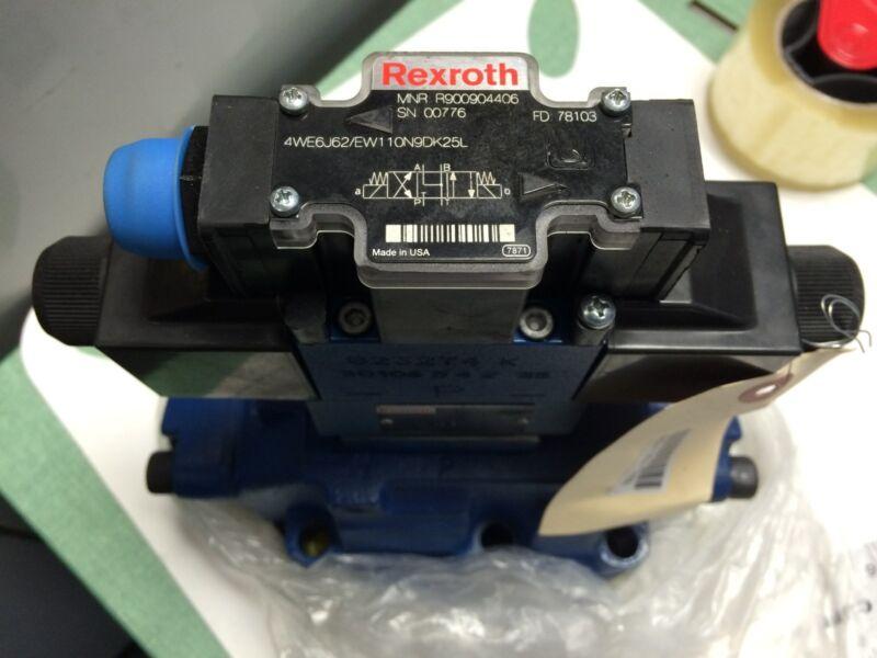 New Rexroth R900904406,z2fs 6-44/1q, Valve,r978008115,4we6j61/ew110n9dk25l Ce