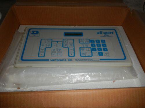 Daktronics all sport 2200 scoring console controller football Looks& Works Great