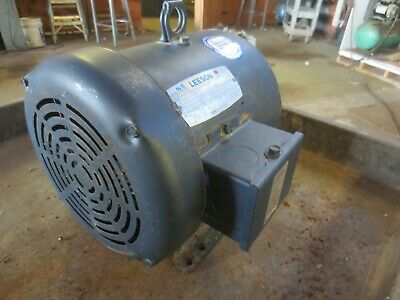 Leeson 131460.00 Ac Motor 3 Hp 3 Phase Rpm 1770 575v