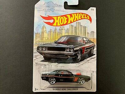 Hot Wheels Dodge Challenger 70 Detroit Muscles 1/64