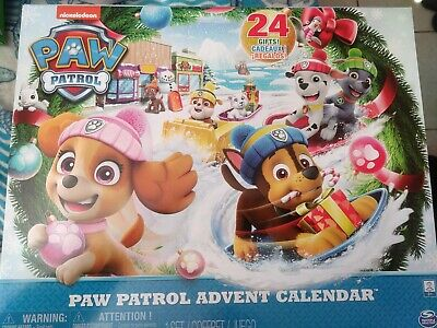 Paw Patrol Advent Calendar Set *New* complete with Surprise 24 Gifts