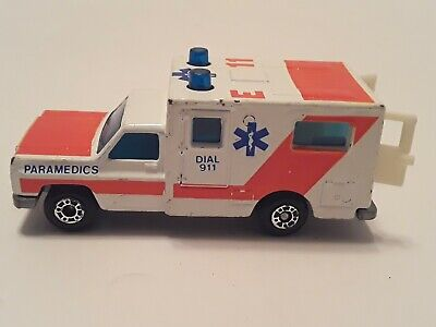 Vintage 1977 Matchbox Ambulance