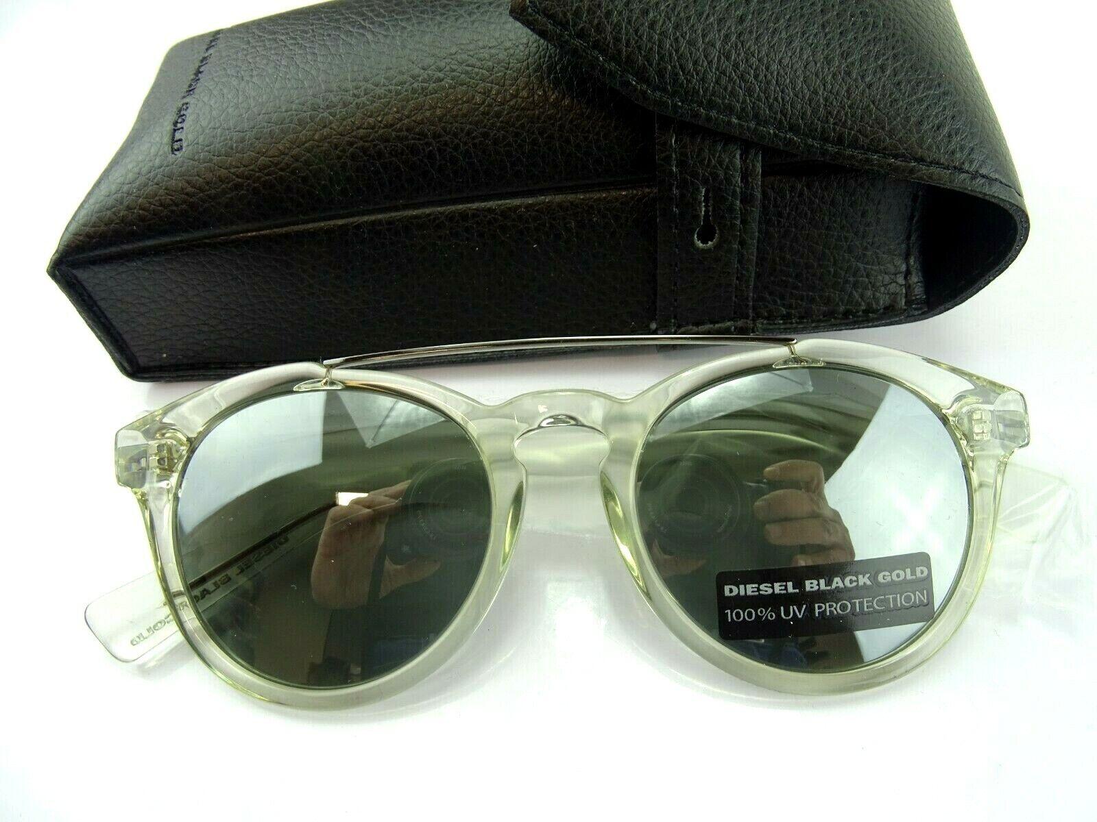 DIESEL DOUBLEYES OCCCHIALE BLACKGOLD Brillenfassung Brillengestell Eyeglasses