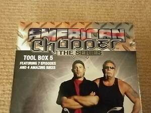 American Chopper : tool box set 5 and 6 Collection (DVD SHOW) Park Ridge Logan Area Preview
