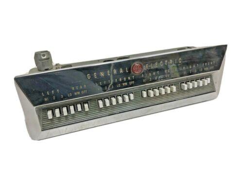 Vintage GE PUSH BUTTON STOVE CONTROL oven range panel part general electric 50s