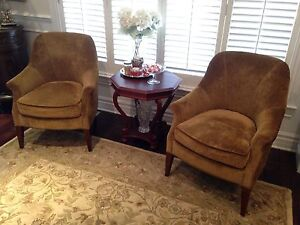 Beautiful Accent Chairs (2) West Island Greater Montréal image 1