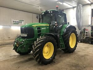 2010 John Deere 7530 with 4485 hrs!!! Front Link & PTO!!!