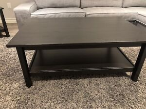 Ikea coffee and side tables