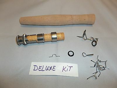Deluxe fly rod building component  kit for fly rods 9'  3, 4, 5 & 6 WT