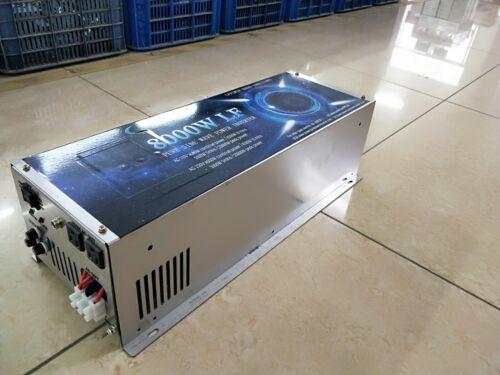8000W LF SPLIT PHASE PURE SINE WAVE POWER INVERTER DC12V/AC220V&110V