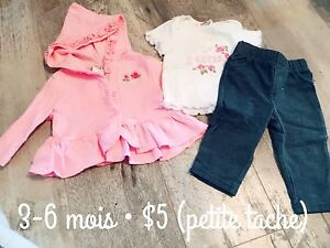 3-6 month baby girl outfits