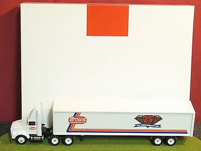Winross Diecast Metal 1/64 truck Brown Transfer Company-48' Cargo-2000