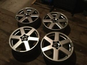 Volvo alloy rims 17 by 7.5 inch for V70 XC70 XC90 cars and SUVs