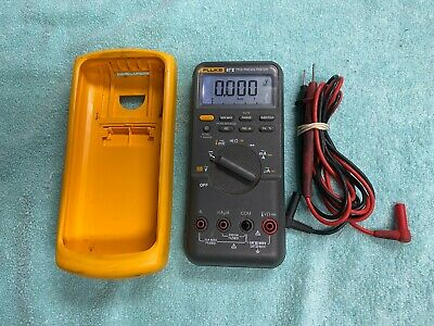 Lotb4 Fluke 87 V True Rms Multimeter W Genuine Leads
