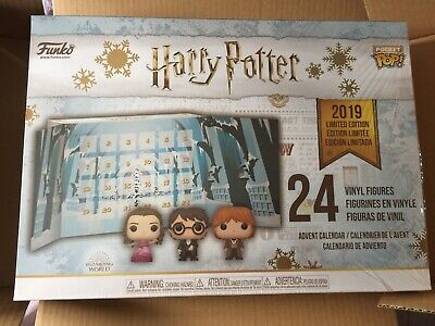 SEALED Funko Harry Potter YULE BALL LIMITED EDITION 24 pc Advent Calendar Sorter