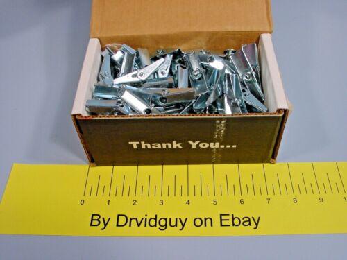 "Box of 50 Cully 58565 Phil/Slot Mushroom Head; Toggle Bolts & Wings 1/4 x 4"""
